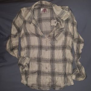 NWT Justice Button-down